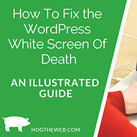fix wordpress whitescreen of death