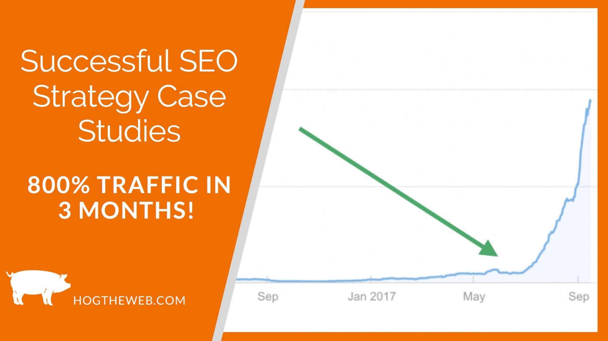 Successful SEO Strategy Case Studies: 800% Traffic Growth in 6 Months!